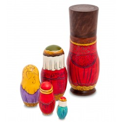 """Boyar"" Set of 5 Miniature Nesting Dolls"