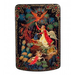 Russian Painted Box Holuy 'Humpbacked Horse' Latysheva