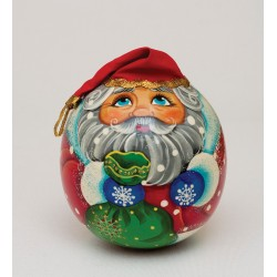 "Mr-21/29 Roly-poly-ball ""Santa Claus"" in stock"