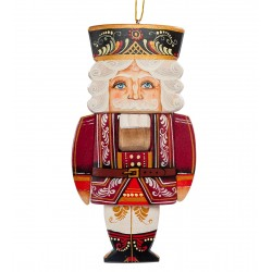 Nutcracker Carved Figurine, Art Painting
