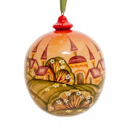 Summer Christmas-tree Decoration, Art Painting