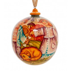 Autumn Christmas-tree Decoration, Art Painting