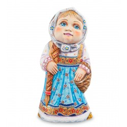Nastenka Figurine (Carved) 22 cm (8.6 inches)