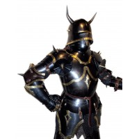 Gothic Armor with Horns of XV Century