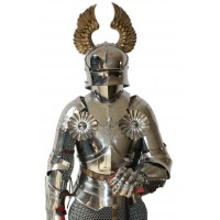 Templar Knight Armor of XV Century