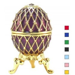 Faberge Easter Egg Grid small in assortment (replica)