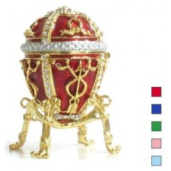 Faberge Egg and arrow small in assort. (replica)