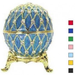 Faberge Easter Egg Grid in assort. (replica)