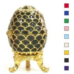 Faberge Easter Egg with Bump in assortment (replica)