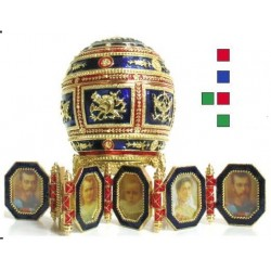 Faberge Easter Egg Large Napoleonic in assortment (replica)