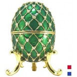 Faberge Egg Box Grid in assortment. (replica)