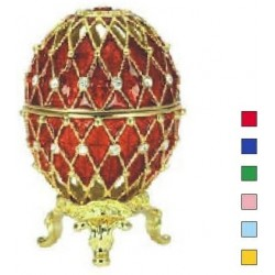 Faberge Easter Egg Grid in assortment. (replica)