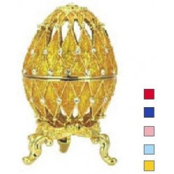 Faberge Easter Egg Grid small in assort. (replica)