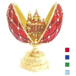 Faberge Double Egg grid with Savior medium (replica)