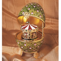 Faberge Music Egg Carousel large