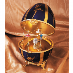 Faberge Music Egg Ballerina large