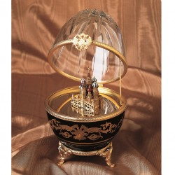 Music Egg Faberge St. Basil Cathedral large