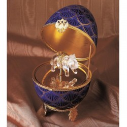 Fabere Music Egg Crystal elephant large