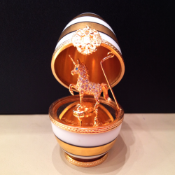 Unicorn Faberge Egg small
