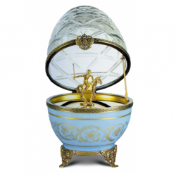 Faberge Egg with Polo