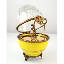 Egg Faberge Tennis Player