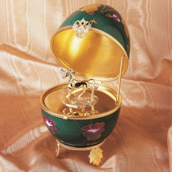 Unicorn Faberge Music Egg large