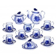 Tea set Blue Rhapsody