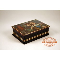 Russian Painted Box with the image - Anushka
