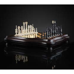 "Mammoth Ivory Chess ""Calvert"""