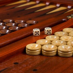 Designer Padauk Backgammon