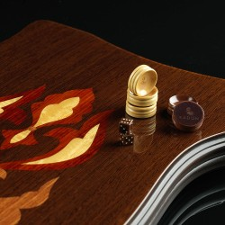 Designer Wenge Backgammon, luxe
