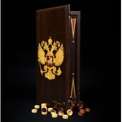 "Backgammon ""Coat of Arms of Russia"""