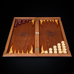 "Backgammon ""Harley"" dark"