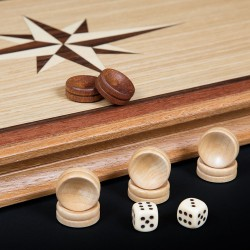 "Backgammon ""Book"" dark"