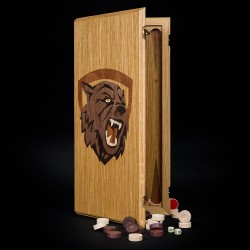 "Backgammon ""Ash"" light"