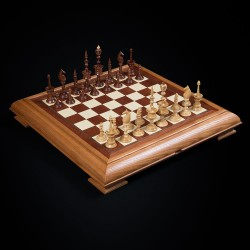 "Chess ""Selenus"" dark"