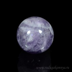 Amethyst ball diameter 27-28mm, 28gr (1sort)