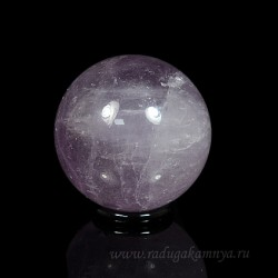 Amethyst ball diameter 43-44mm, 110gr.