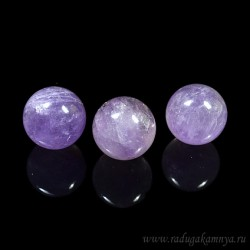 Amethyst ball diameter 22-23mm, 18gr.