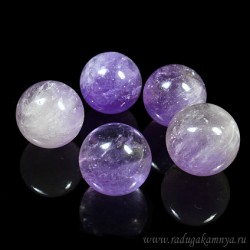Amethyst ball diameter 24-25mm, 21gr.