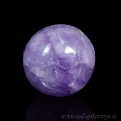 Amethyst ball diameter 38-39mm, 75gr, grade 2.