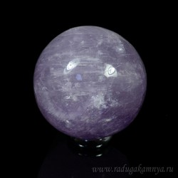 Amethyst ball diameter 55-57mm, 230gr, grade 2.