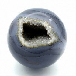 Ball Brazilian agate (geode), 100 * 100mm, 1460gr.