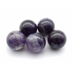 Amethyst ball diameter 22-23mm, 14gr (1sort)