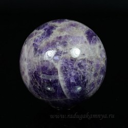 Amethyst ball diameter 62-63mm, 330gr (1sort).