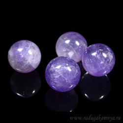 Amethyst ball diameter 26-27mm, 26gr.