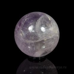 Amethyst ball diameter 55-56mm, 235gr.
