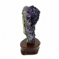 Amethyst Druza 1275gr weight, size 130 * 80 * 185mm. (S).