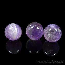 Amethyst ball diameter 28-29mm, 32gr.