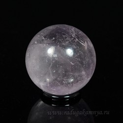 Amethyst ball diameter 40-42mm, 90g.